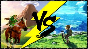ocarina of time versus breath of the wild