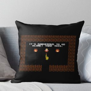 Legend of Zelda: Take this! Throw Pillow