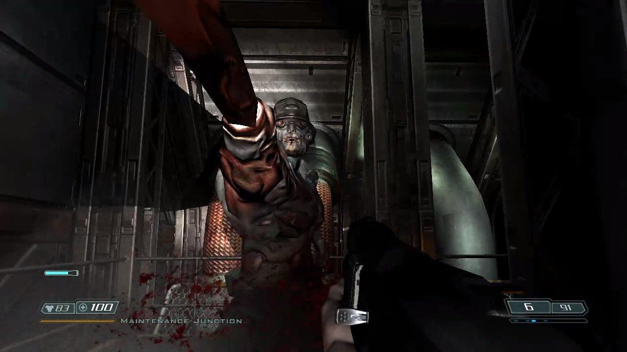 Whip Commando Zombie