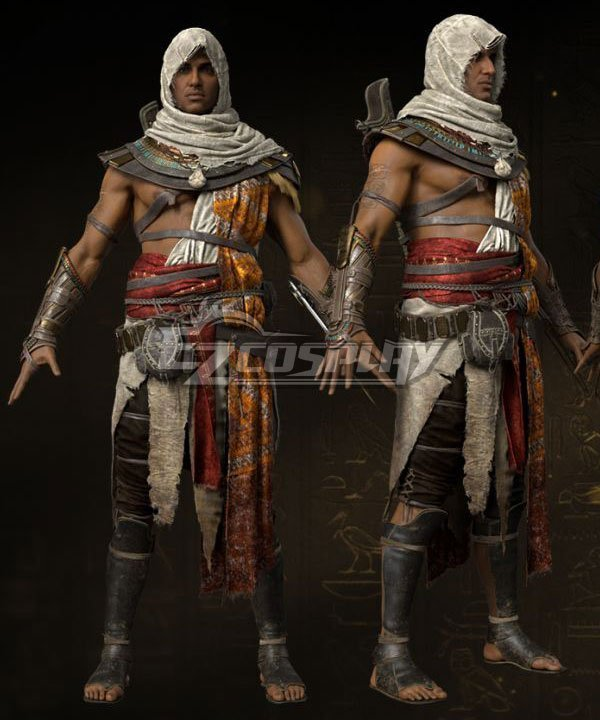 Assassin S Creed Origins Bayek Of Siwa Cosplay Costume Tgpz Gaming