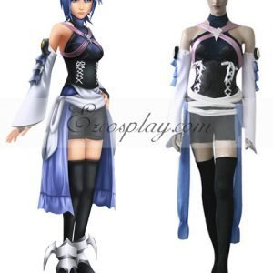 Kingdom Hearts Birth By Sleep Aqua Cosplay Costume