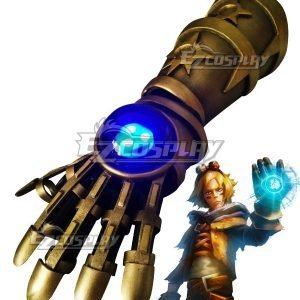 League Of Legends LOL Classic Ezreal EZ Gauntlets Cosplay Accessory Prop