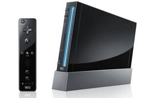 Nintendo Wii Black Console