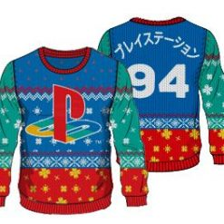Playstation 4 Ugly Christmas Sweater
