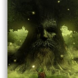Deku tree – The legend of Zelda Canvas Print