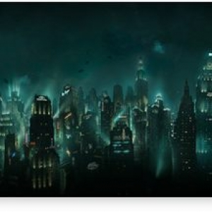 Bioshock (Rapture-panorama) Canvas Print