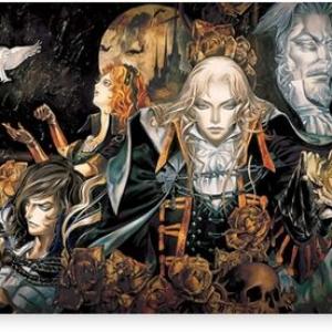 castlevania symphony Canvas Print