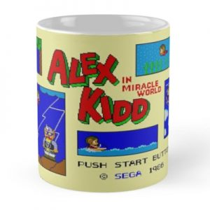 Alex Kidd Miracle World Mug