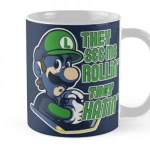 Luigi MK8 – Ridin' Dirty Mug