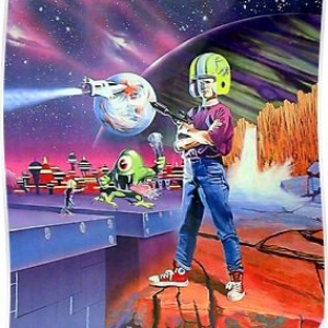 Commander Keen – Retro DOS game fan print Poster