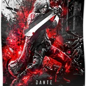 Devil May Cry 5 Dante Poster
