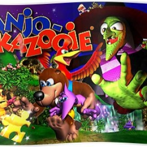 Banjo & Kazooie Poster