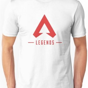 Apex Legends T-Shirt Merch Icon Red Unisex T-Shirt