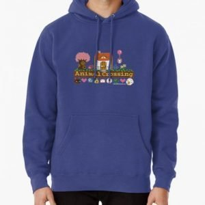 Animal Crossing Pixel house Hoodie (Pullover)