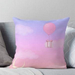 Animal Crossing Sunset Throw Pillow
