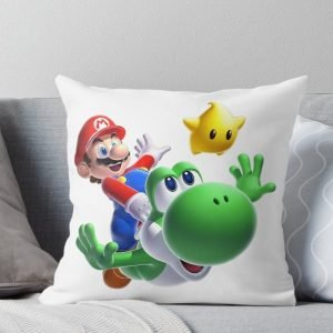 Mario Bros Throw Pillow