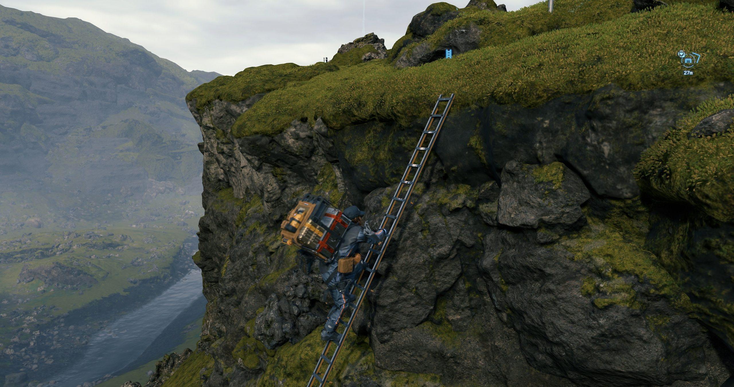 Ladder Terrain Navigation