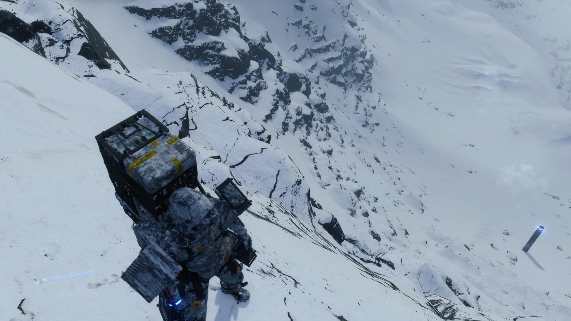 Death Stranding Terrain Mountaineer Sam