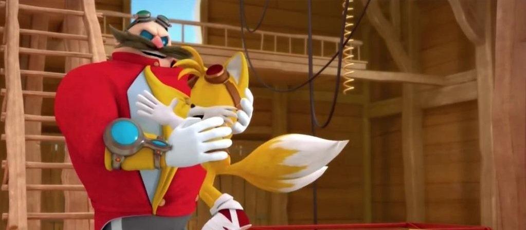 Dr Eggman Tails
