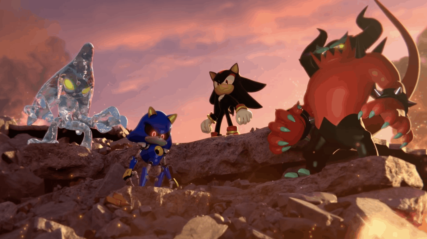 Sonic Forces Trailer Shadow