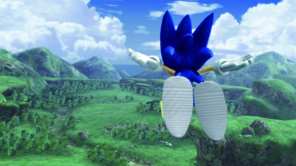 Sonic Hedgehog Open World RPG