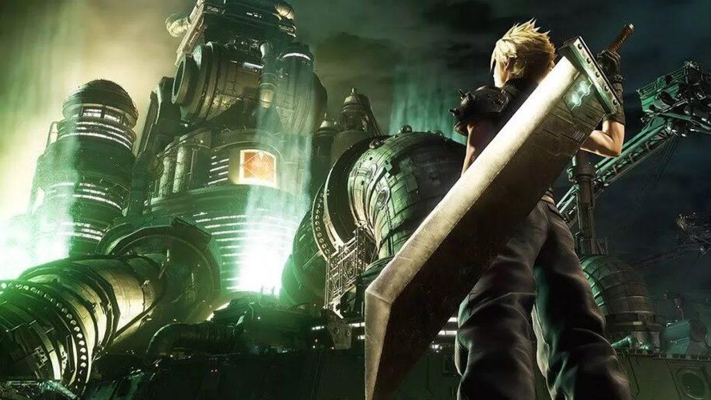 Final Fantasy VII Remake Cloud Midgar