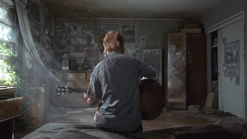 The Last of Us Part 2 Ellie Guitar