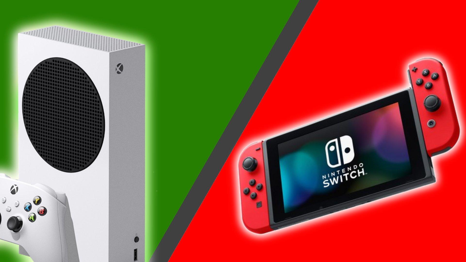 Xbox Series X vs Nintendo Switch