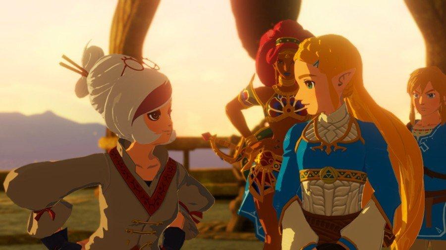 Hyrule Warriors Age of Calamity Zelda Purah Link Urbosa Sheikah