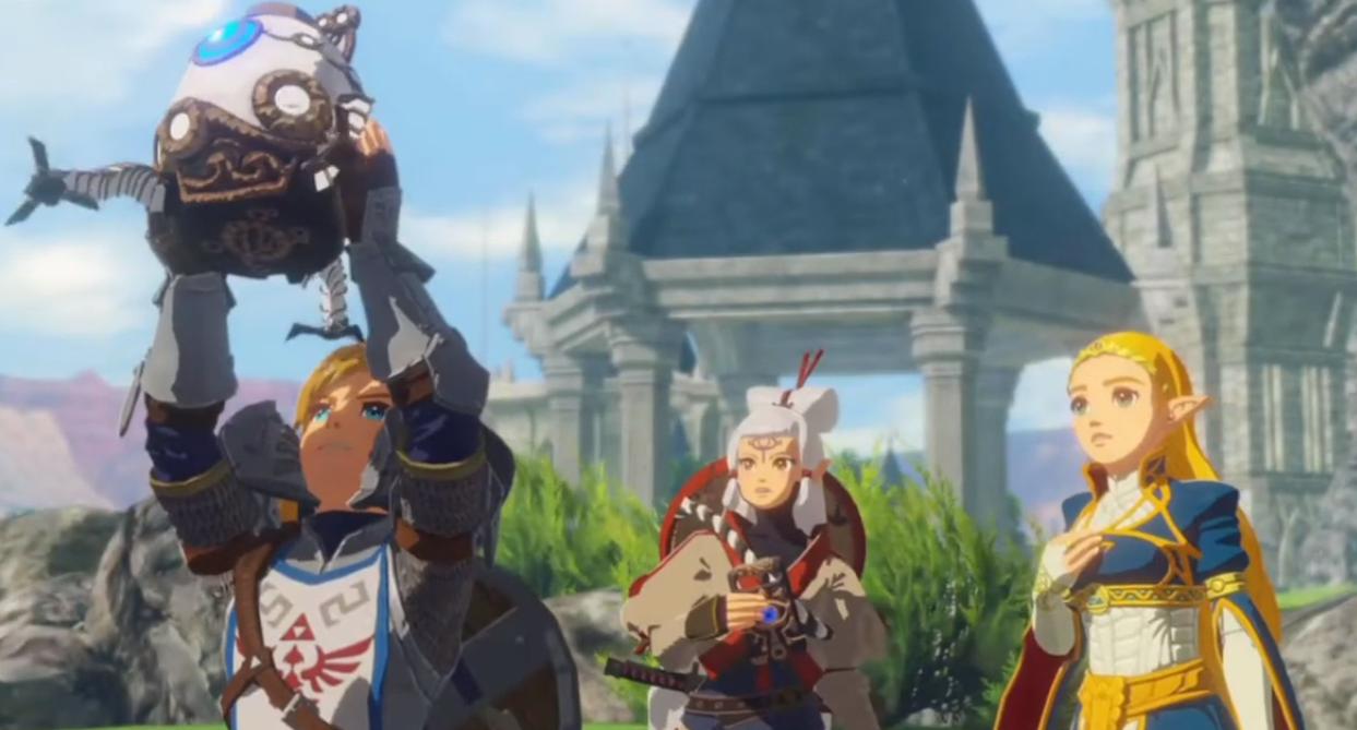Hyrule Warriors Age of Calamity Link Zelda Purah